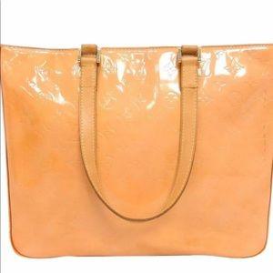 Louis Vuitton Vernis Columbus Monogram Tote Bag